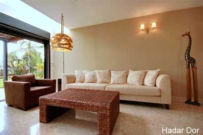 עיצוב בית במושב בשרון