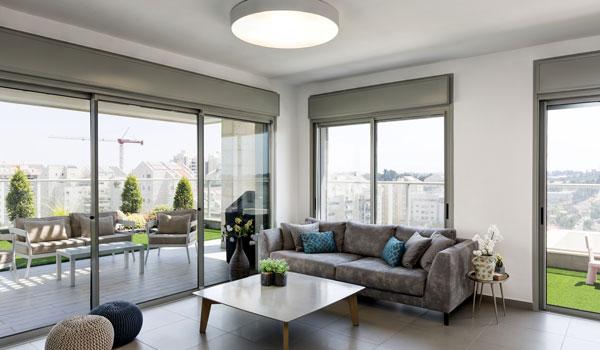 עיצוב דירות מקבלן