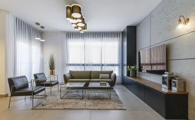עיצוב דירת דופלקס פנטהאוז