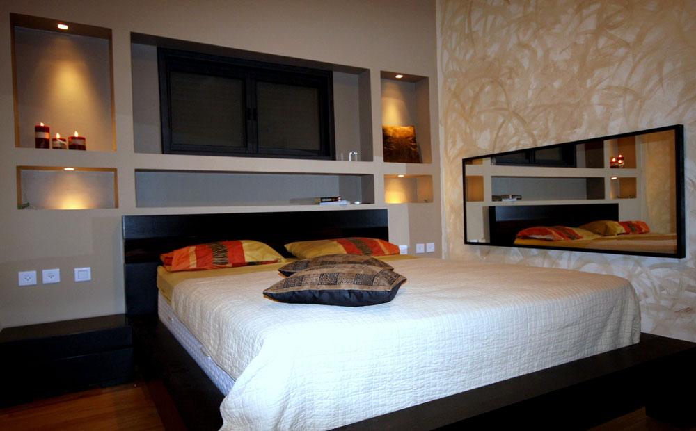חדר שינה בדירה קטנה