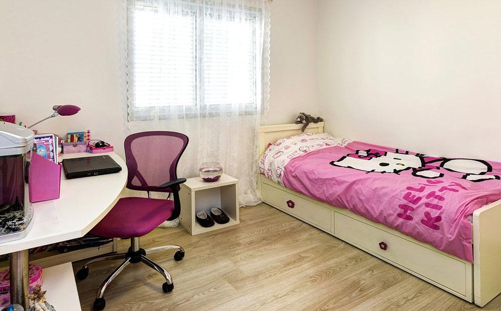 חדר שינה של ילדה