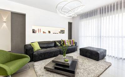 עיצוב דירה מודרנית