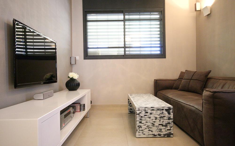 חדר טלוויזיה מעוצב