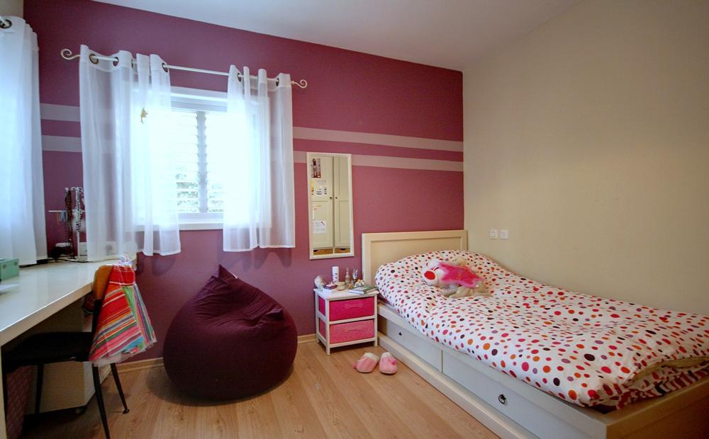חדר ילדים עם פרקט אלון