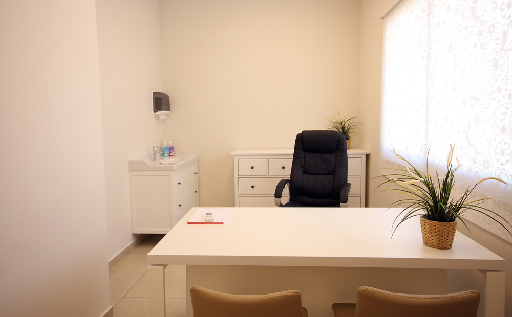 עיצוב חדר רופא