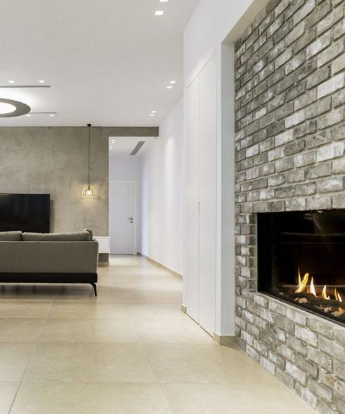 עיצוב דירת פנטהאוז יוקרתית