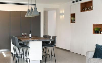 עיצוב דירת פנטהאוז מודרנית בהרצליה