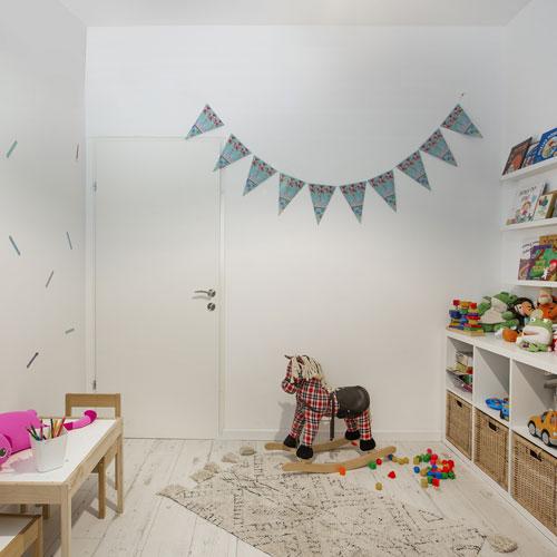 חדר משחקים מעוצב
