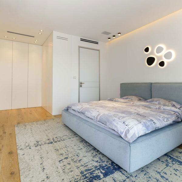 חדר שינה וארונות מעוצבים