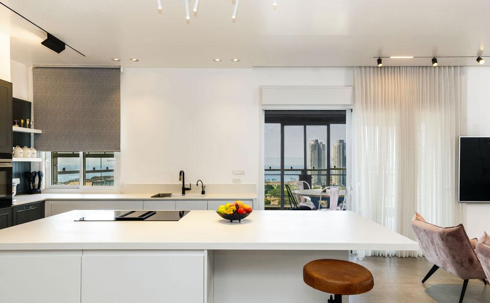 מטבח מודרני נוף